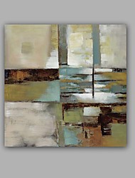cheap -Oil Painting Hand Painted - Abstract Classic Modern Canvas