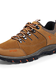 Hiking Shoes Men's Athletic Shoes Comfort Suede Spring Summer Fall Winter Outdoor  Comfort Lace-up Flat Heel Black Yellow Army Green 2in-2 3/4in