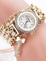 Xu™ Dámské Módní hodinky Náramkové hodinky Křemenný Materiál Kapela Retro Běžné nošení Černá Bílá Modrá Červená Hnědá Zelená RůžováHnědá