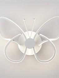 Modern LED Wall Lights Butterfly Shape Creative Metal Acrylic Living Room Hallway Bedroom Hotel rooms Bedside Lamp