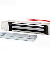 serrures magnétiques système de contrôle d'accès 280 kg unique porte électromagnétique électroniques embarqués