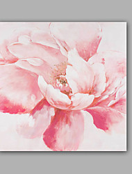 cheap -Oil Painting Hand Painted - Floral / Botanical Classic Modern Canvas