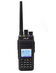 cheap -MD-398 UHF Walkie Talkie Handheld Anolog Digital Low Battery Warning Emergency Alarm PC Software Programmable Power Saving Function Voice