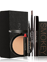 FOCALLURE 6Pcs Cosmetics Makeup Set