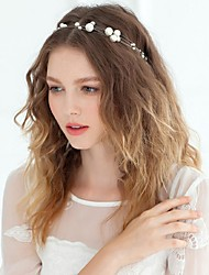 Women's Rhinestone / Imitation Pearl Headpiece-Wedding / Special Occasion / Casual Headbands / Flowers / Wreaths / Head Chain / Hair Tool