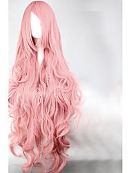 Недорогие -Парики для Лолиты Принцесса Сладкое детство Розовый Sweet Lolita Парики для Лолиты 35 дюймовый Косплэй парики Однотонный Парики Хэллоуин парики