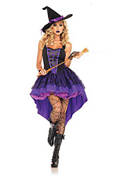 Costumi Cosplay Viola Terylene Accessori Cosplay Halloween Carnevale
