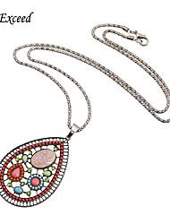 Недорогие -Жен. Свисающие форма На заказ Винтаж Богемные Духовное развитие Мода Подарочные коробки и сумки обожаемый Панк Ожерелья с подвесками