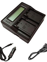 ismartdigi EL9 LCD doppio caricabatterie con cavo di ricarica auto per Nikon D60 D40 D40X D500 ENEL9 una macchina fotografica batterys