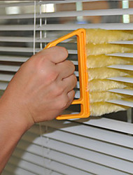 cheap -Microfibre Cleaning Brush Venetian Blind Cleaning Brush Air Conditioner Duster Window Wizard Cleaner Tazas De Te Vidrio