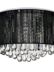 cheap -Luxury Black Drop Ceiling Crystal  Chandelier