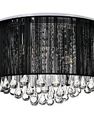 cheap -4-Light Flush Mount Ambient Light - Crystal, 110-120V / 220-240V Bulb Not Included / 20-30㎡ / E12 / E14