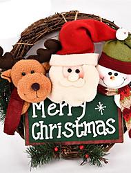 Недорогие -Костюмы Санта Клауса Elk Снеговик Рождественский декор Милый Мультяшная тематика Высокое качество Мода Плюш Мальчики Девочки Игрушки Подарок