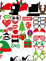 1 couvercle (39pcs) articles de Noël fête des articles de fête des accessoires de films espiègles