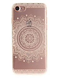 For iPhone 7 7plus 6s 6 Plus SE 5s 5 TPU Material IMD Process Mandala Pattern Phone Case