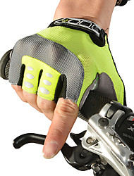 cheap -ROCKBROS Sports Gloves Bike Gloves / Cycling Gloves Waterproof / Lightweight / Quick Dry Fingerless Gloves / Handlebar mitts Synthetic Textile Fibres / Leatherette / Polyester Equestrian / Leisure