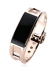 cheap -Smart BraceletWater Resistant/Waterproof / Long Standby / Calories Burned / Pedometers / Health Care / Sports / Heart Rate Monitor /