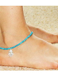 cheap -Anklet - European, Fashion Blue LED Hamsa Hand For Wedding / Party / Daily / Women's