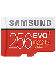 abordables -Samsung 256GB TF carte Micro SD Card carte mémoire UHS-I U3 Class10 EVO Plus EVO+