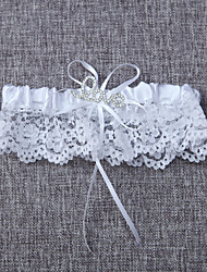 cheap -Lace Wedding Garter with Bowknot Wedding AccessoriesClassic Elegant Style
