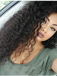 Glueless Lace Front Wig Human Hair Water Wave For Black Women