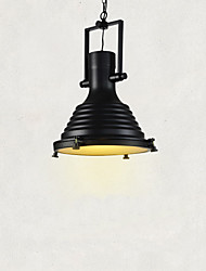 cheap -Max 60W Retro Simple Loft Pendant Lights Metal Dining Room Kitchen Bar Cafe Hallway Balcony Light Fixture