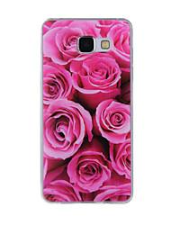 preiswerte -Hülle Für Samsung Galaxy A5(2016) / A3(2016) Muster Rückseite Blume Weich TPU für A8(2016) / A5(2016) / A3(2016)