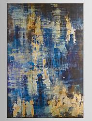 Недорогие -ручная роспись абстрактные / животные современные / классические две панели холст масляной живописи