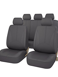 cheap -CARPASS Car Seat Covers Seat Covers Black / Beige / Gray PU Leather Common for universal
