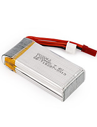 cheap -7.4V 1200mAh 30C 803063 JST Plug RC Quadcopter Battery for MJX X101/JJRC/H16