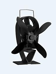 Недорогие -отдельно стоящий 4-лопастной тепла работает экологически чистый новый стиль плита вентилятор камин вентилятор 140 CFM макс