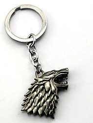 abordables -Plus d'accessoires Inspiré par Game of Thrones Cosplay Manga Accessoires de Cosplay Porte-clés Alliage