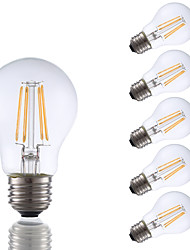E26 LED Filament Bulbs A17 4 COB 350 lm Warm White 2700 K Dimmable AC 110-130 V