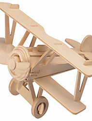 Jigsaw Puzzles Wooden Puzzles Building Blocks DIY Toys New Burt Plane 1 Wood Ivory Model & Building Toy