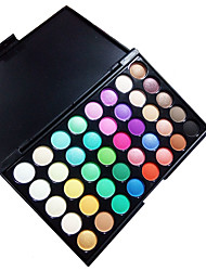 cheap -40 Colors Eyeshadow Palette / Powders Eye Daily Makeup Makeup Cosmetic