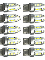 10PCS High Quality T20 7443 15W LED Brake Lamp T20 LED Turn Signal Lamp T20 LED Reverse Lamp 100% Car Models Suitable