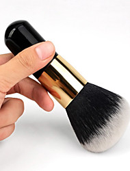 cheap -1pcs Powder Blush Makeup Brush Nylon Synthetic Hair Professional  Eco-friendly Limits bacteria Portable Wood Others
