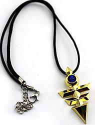 Недорогие -Больше аксессуаров Вдохновлен Yu-Gi-Oh Косплей Аниме Косплэй аксессуары ожерелья Золотистый Сплав