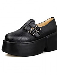 Women's Oxfords Spring Summer Fall Winter Platform Comfort Novelty Patent Leather LeatheretteWedding Office & Career Dress Casual Party &