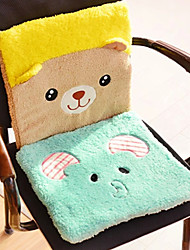 Creative Cute  Animal Mat Cushion  Cartoon Plush Cushion Cushion Thickness  Office Computer Chair Cushion  (Random Colour)