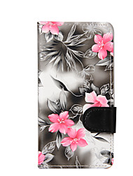 cheap -For LG K10 K8 Mini Flowers PU Leather Case for LG K4 LG G3 Cases / Covers for LG