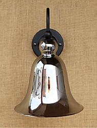 caratteristica d'argento CA 110V-130V / AC 220V-240V 40w e27 rustico / lodge per parete lampadina includeddownlight ripari applique da