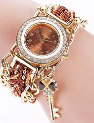 cheap -Women's Bracelet Watch Fashion Watch Quartz Casual Watch Fabric Band Vintage Casual Black White Blue Red Brown Pink