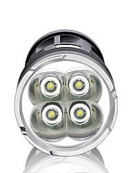 Lanternas LED LED 3000 Lumens 3 Modo LED Baterias não incluídas Impermeável Super Leve Alta Intensidade Regulável para Campismo /