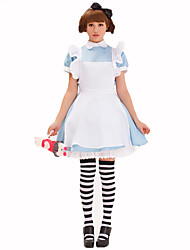 Maid Costumes Female Halloween Christmas Carnival Children's Day New Year Oktoberfest Festival/Holiday Halloween Costumes Solid