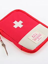 economico -Tessuto Oxford Borsa da viaggio Portapillole da viaggio Ompermeabile Portatile Anti-polvere Contenitori da viaggio Accessori di emergenza