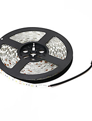 cheap -5m Flexible LED Light Strips 300 LEDs 5050 SMD Warm White / White Waterproof 12 V / IP65