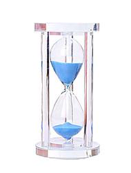 Недорогие -Песочные часы Игрушки Цилиндрическая Хрусталь Стекло Мальчики Девочки 1 Куски