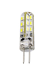 1.5W G4 LED à Double Broches Tube 24 SMD 3014 100-150 lm Rouge Bleu Vert K Décorative DC 12 V