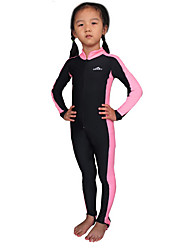 Kid's Girls' Boys' 1mm Wetsuit Skin Full Wetsuit Dive Skins Ultraviolet Resistant Chinlon Diving Suit Long Sleeves Rash Guard Diving Suits